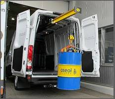 National Fleet Products' EasyLoad Hoist comes with low-profile tubular steel structure.
