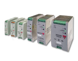 Carlo Gavazzi's Slimline Power Supplies come with built-in DCOK relay contact.