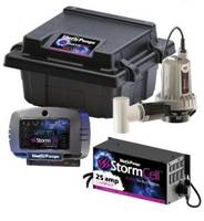 StormCell® 442-Series Battery Backup Pump Systems feature remote monitoring.