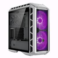 H500P Mesh White comes with full-mesh front panel with acrylic top panel.