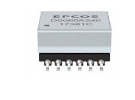 EPCOS Transformers are designed for an output of up to 60 W.