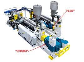 Super-G® HighSPEED Extruders increase extrusion output per square foot.