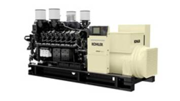 KD Series Generators are powered by EPA certified Kohler V16 engines.