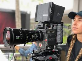 RED Digital Cinema 8K Camera Paired with Fujifilm/Fujinon Zooms for Demo Days During Inaugural Surfing Competition