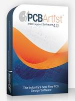 Pcb Artist® 4.0 Design Software enhances Powerplane Thermal controls.
