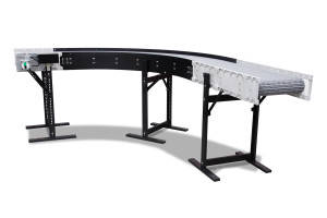 DynaCon Radius Turn Conveyors Take a Tight Turn