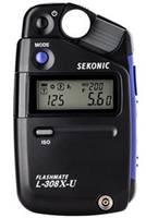 Flashmate L-308X-U Light Meter features long-awaited LCD backlight.