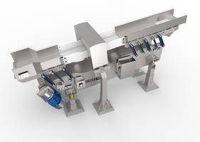 Iso-Flo® Vibratory Conveyor minimizes product spillage.