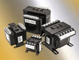 ICT Series Control Transformers feature molded terminations.