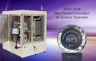 Nordson MARCH Receives NPI Award for Its RollVIA Self-Contained Vacuum Plasma System