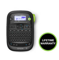 LW-PX300 Label Printer offers portability and affordability.