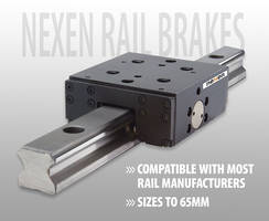 Nexen's Profile Guide Rail Brakes offer static holding force to 2,600 N.