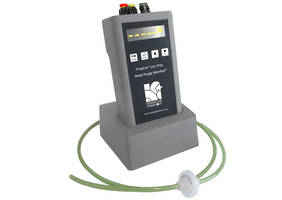 PurgEye® 200 Weld Purge Monitor allows networking to a range of accessories.