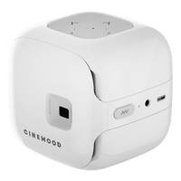 CINEMOOD White Projector allows user to connect through Wi-Fi.