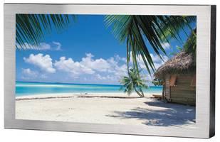 TRU-Vu Monitors' 24 in. LCD Display features 1920 x 1080 full HD resolution.