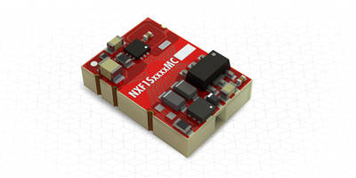 NXF1 Series 1W DC-DC Converters feature embedded core SMD construction.