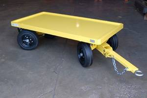 Carts and Tuggers Help Manufacturers Come Close to Fork Truck Free