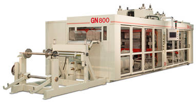 GN800 Thermoformer comes with in-mold-cut capability.