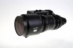 Cabrio Cine Lens comes with detachable digital servo control.