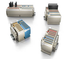 Klippon® Connect Terminal Blocks increase wiring density.