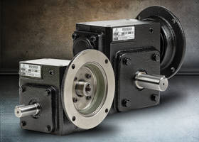 Left Hand Shaft Worm Gearboxes feature C-flange input.