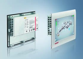 CP6x00 Touch Panels come with resolution of 1024 x 600 WSVGA.