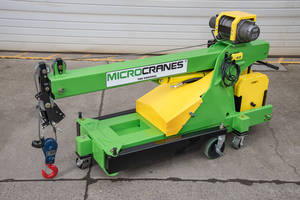 M1 Global Model Microcrane® fits through 36 in. doorways.