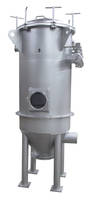 Hygienic Round Top Removal Filter comes with 304 stainless steel bag cages.