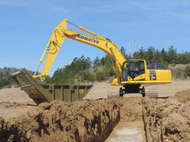 PC390LCi-11 Hydraulic Excavator comes with minimum distance control feature.