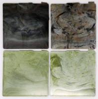 CamoTek™ Concentrates are used to impart variegated colors.
