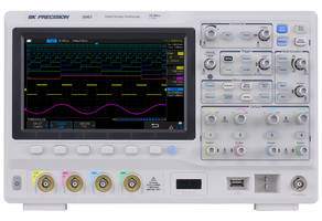 2560 Series Mixed Signal Oscilloscopes feature 25 MHz function generator.