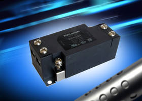 RSEV Series EMC Filters come with touch-resistant terminal block.