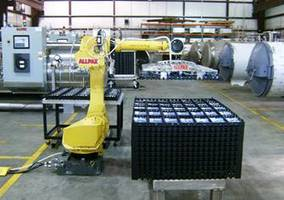 Robotic Basket Loading/Unloading System allows the operators to access the status.