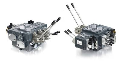 Danfoss' PVG Proportional Valves Improve Productivity and Machine Performance