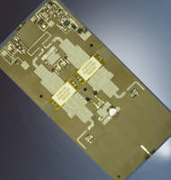 L-Band Radar Amplifiers Offer Low Input/Output VSWR