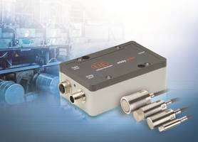 EddyNCDT 3060 Inductive Measurement System Measures Ferro- and Non-Ferromagnetic Objects