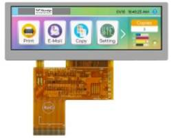 TFT Panoramic Display from Microtips Technology Is Certified by ISO 9001 and ISO 14001