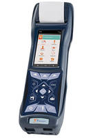 E4500 Industrial Emissions Analyzer Features Storage of up to 2,000 Tests