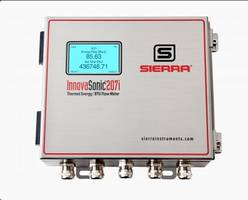 New Liquid Ultrasonic Flowmeter has Apps and is Optimized for Thermal Energy/BTU Measurement