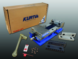 Kurt DX6 CrossOver Vise Provides Improved All-Directional Alignment