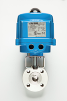 V-Ball Automated Valves Feature a Blow-Out Proof Stainless Steel Stem