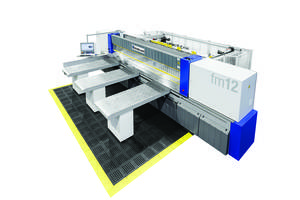 fm12 Plate Saw Features a Patented CLEAN-UP Function