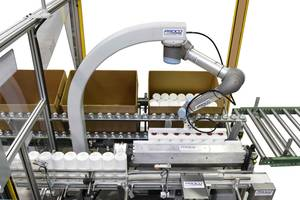 Half-Cube Palletizer System Comes with Six-Axis Collaborative Robotic Arm