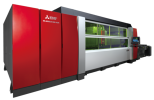 Advanced 800 Series eX-F Fiber Laser Machine is enhanced with M800 Laser Control