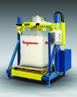 New Explosion-Proof Bulk Bag Fillers from Flexicon Feature Controls for Storage and Shipment