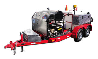 HotJet II® Drain Line Jetter Delivers 10GPM at 4,000 PSI Pressure
