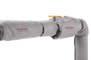 BriskHeat Announces Silver-Series Cloth Insulators to Maximize Thermal Efficiency