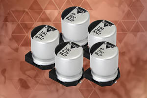 Aluminum Polymer Capacitors from Vishay Provide High Ripple Current and Good Impedance