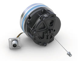 New SGH25 Wire-Actuated Encoder Comes with IP69K Rated Plug Connection System
