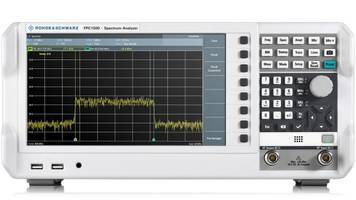 New R&S FPC1500 Spectrum Analyzer Offers Range of 5 kHz to 1 GHz